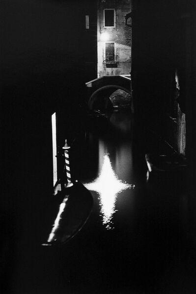 Ikkō Narahara, 'Lines of Luminance, Venice , Italy', 1982-vintage print