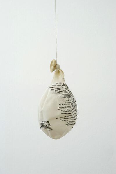 Jaime Pitarch, 'Curriculum Vitae', 2009