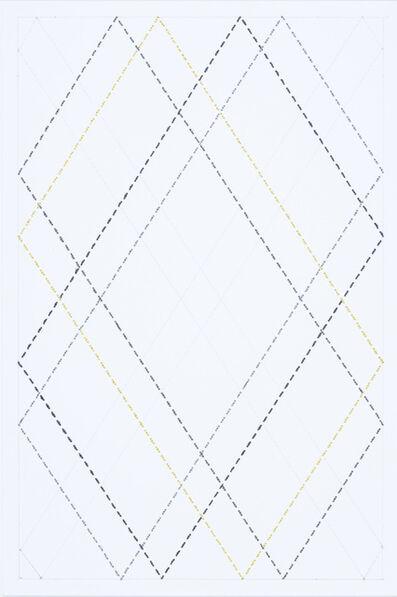 Cecilia Charlton, 'Quilted Composition [white // diamonds] ', 2019