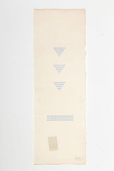 Tomaso Binga, 'Typecode (vertical)', 1978