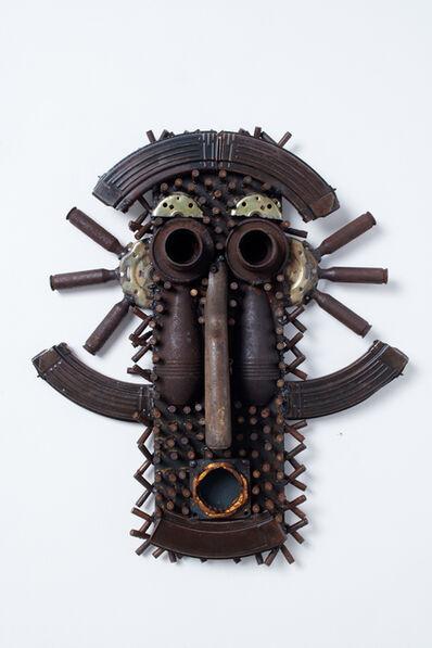 Gonçalo Mabunda, 'Untitled (mask)', 2018