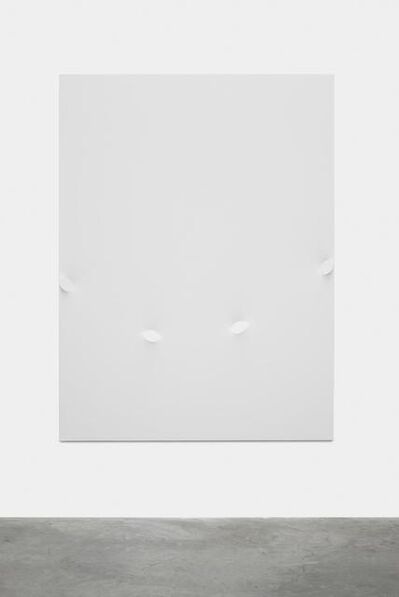 Turi Simeti, 'Quattro ovali bianchi', 2015