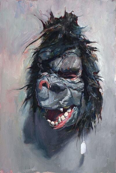 John Brosio, 'Gorilla Mask Study', 2018