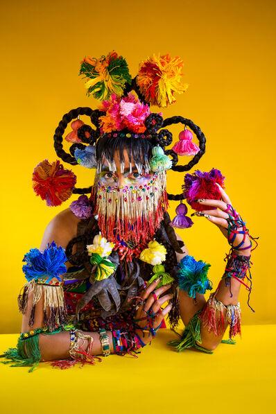 Martine Gutierrez, 'Demons, Xochiquetzal 'Flower Quetzal Feather,' p95 from Indigenous Woman', 2018