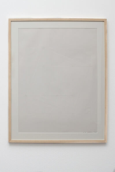 Esther Ferrer, 'Pitágoras cuadrado. Blanco sobre blanco', 1988