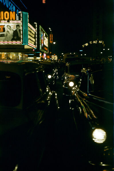 Werner Bischof, 'Cruising at Night #1, New York, USA', 1953