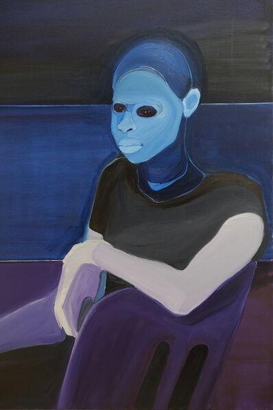 Richard Butler-Bowdon, 'M So Patient in Prussian Blue', 2019