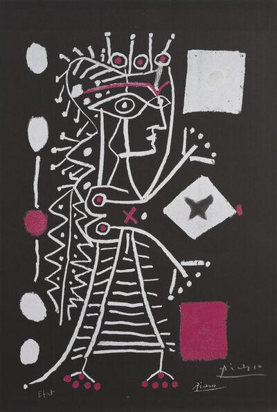 Pablo Picasso, 'La Femme Aux Des (Jacqueline) ', 1960