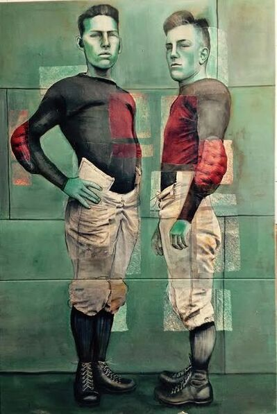 Charlotta Janssen, 'Two Sportsmen: Naval Academy Annapolis Maryland 1913', 2014