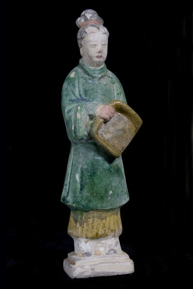 Unknown Chinese, 'Glazed Terracotta Goddess of Domestic Duties', 1468-1643