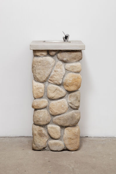 Fiona Connor, 'Object No. 5, Bare Use (water fountain)', 2013