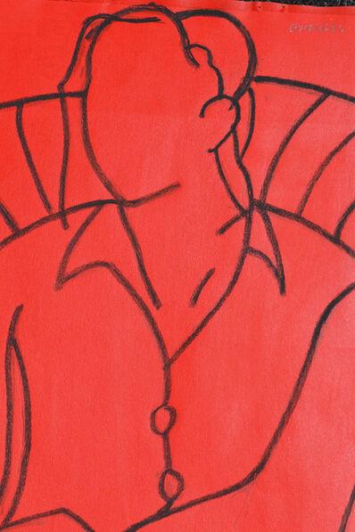 John Emanuel, 'Red Mono', 2018