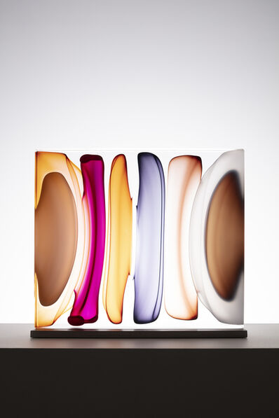 Jamie Harris, 'Infusion Block in Amber, White, Ruby and Brown ', 2020