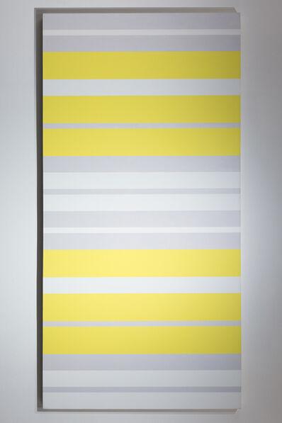 Barry Allikas, 'Sans titre – Yello, Grey and White', 2006