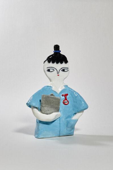 Kinska, 'Blue Nurse', 2017-2019