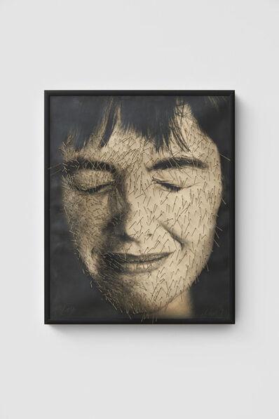 Annegret Soltau, 'Ich überstochen [Myself punctured]', 1991