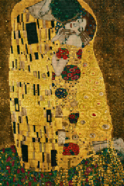 Alex Guofeng Cao, 'Kiss You in Vienna, After Klimt', 2014