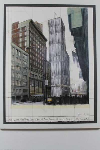 Christo, 'New York Times Square', 2003