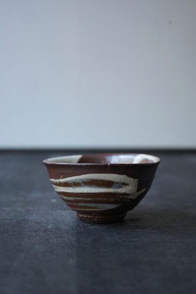 "Shiro Tsujimura, 'Tea Bowl ""Hakeme Style""'"