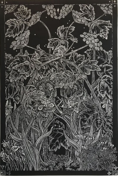 Julia Lucey, 'Spring Coyote Evening', 2018