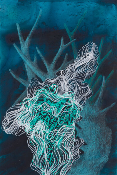 Resa Blatman, 'Small Coral Drawing 24', 2018