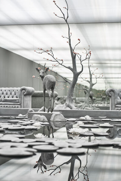 Hans Op de Beeck, 'The Garden Room', 2017