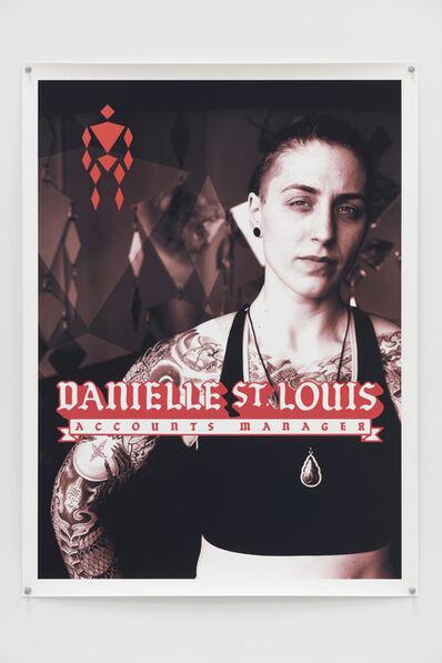 Dana Hoey, 'Danielle St. Louis', 2019