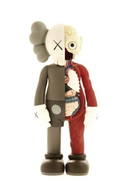 KAWS, 'Five Years Later (Brown) Dissected Companion ', 2006