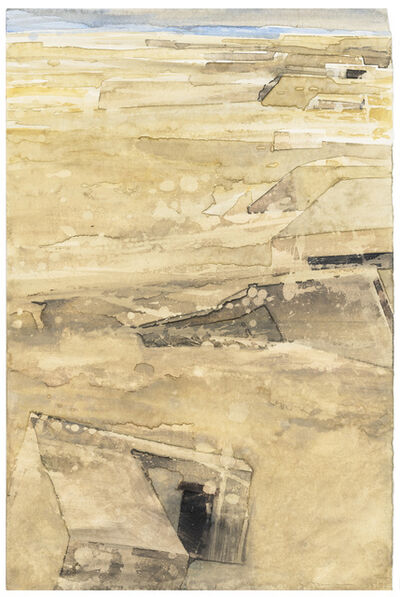 Gottfried Salzmann, 'Blockhaus', 1991