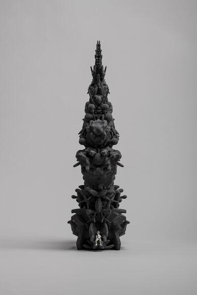 Kohei Nawa, 'Throne(SiC/p_boy)', 2019
