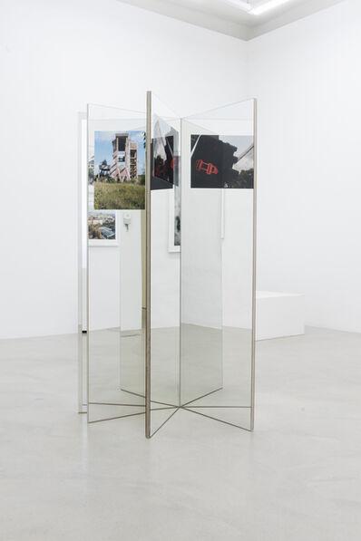 Andreas Fogarasi, 'Étoile (red)', 2018