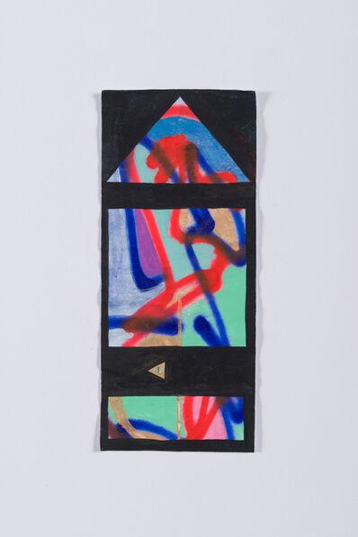 Sarah Cain, '$three', 2016