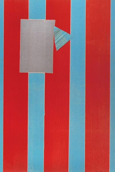 Sam Gilliam, 'Castle Banner 5', 2004