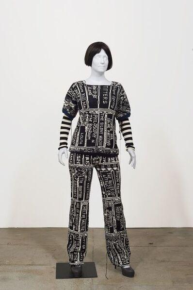 Lisa Anne Auerbach, 'Bookshelf Camo', 2014