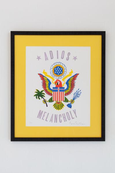 Magnus Sigurdarson, 'ADIOS MELANCHOLY PRINT ', 2018