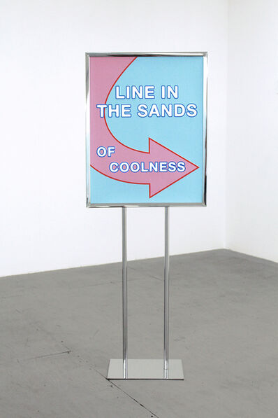 "Eileen Maxson, '""Line in the sands of coolness""', 2015"