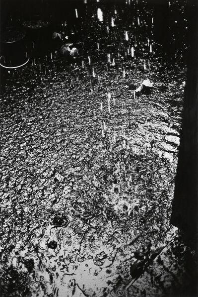 Daido Moriyama, 'Rain, Tachikawa City, Tokyo', 1990
