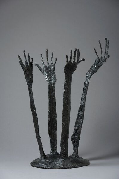 "Robert Couturier, '""Les Bras"" Dark patinated bronze sculpture', ca. 1998"