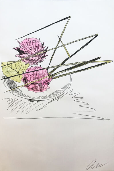 Andy Warhol, 'Hand Colored Flowers ll.116', 1974