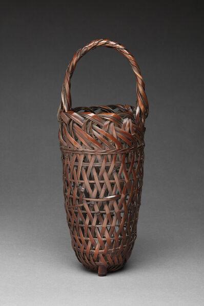 Wada Waichisai II, 'Hanging Flower Basket', 1904-1920s