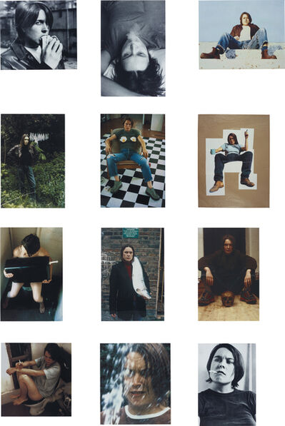 Sarah Lucas, 'Self Portraits 1990-1998 (complete portfolio of 12 works)', 1999