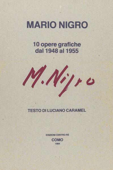 Mario Nigro, 'Untitled', 1984