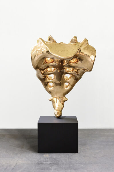 Elmgreen & Dragset, 'Tailbone (golden)', 2019