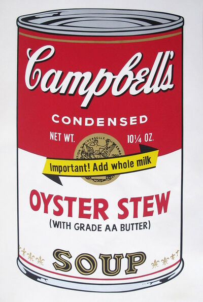 Andy Warhol, 'Campbell's Soup Can II Oyster Stew', 1969