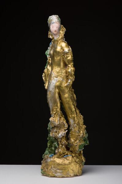 Linda Marrinon, 'Golden woman', 2018