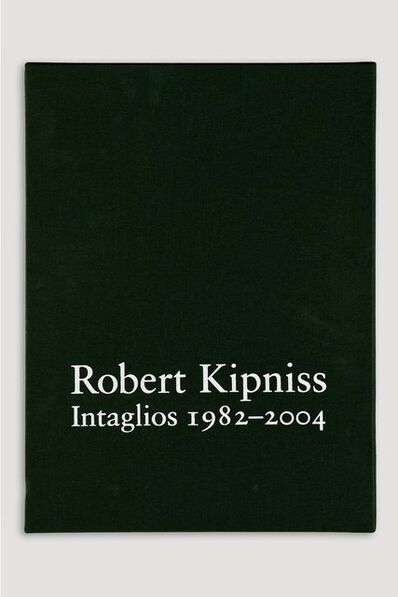 Robert Kipniss, 'Deluxe Volume of Robert Kipniss Intaglios 1982-2004, Catalogue Raisonné', 2004