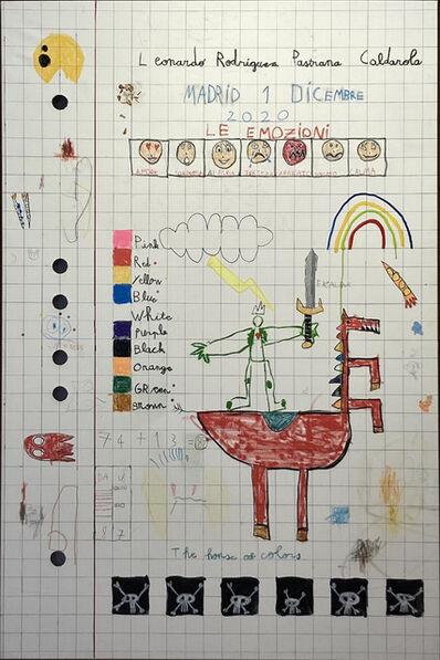 Leonardo Rodriguz Pastrana, 'Schoolnotes', 2020