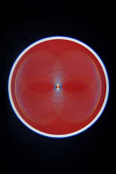 Eduardo Mac Entyre, 'Mandala II en rojo', 1969