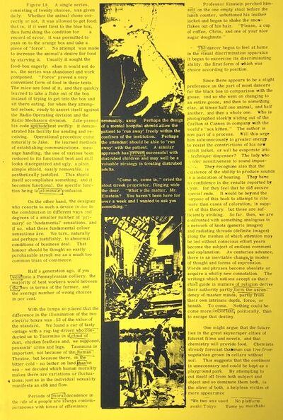 Eduardo Paolozzi, 'A single series, consisting of twenty choices', 1965-1970