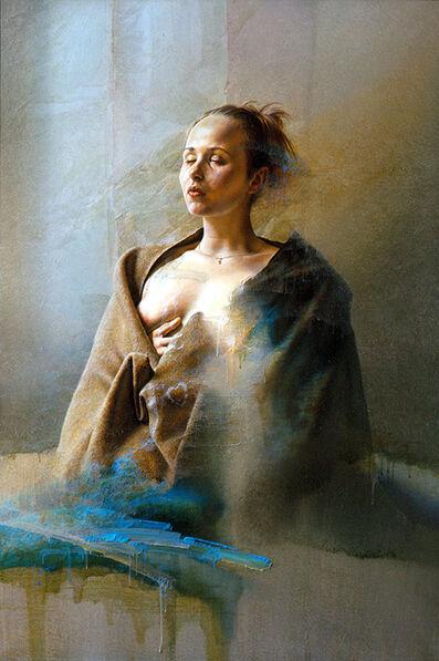 Istvan Sandorfi, 'Anne aux yeux clos', 2000
